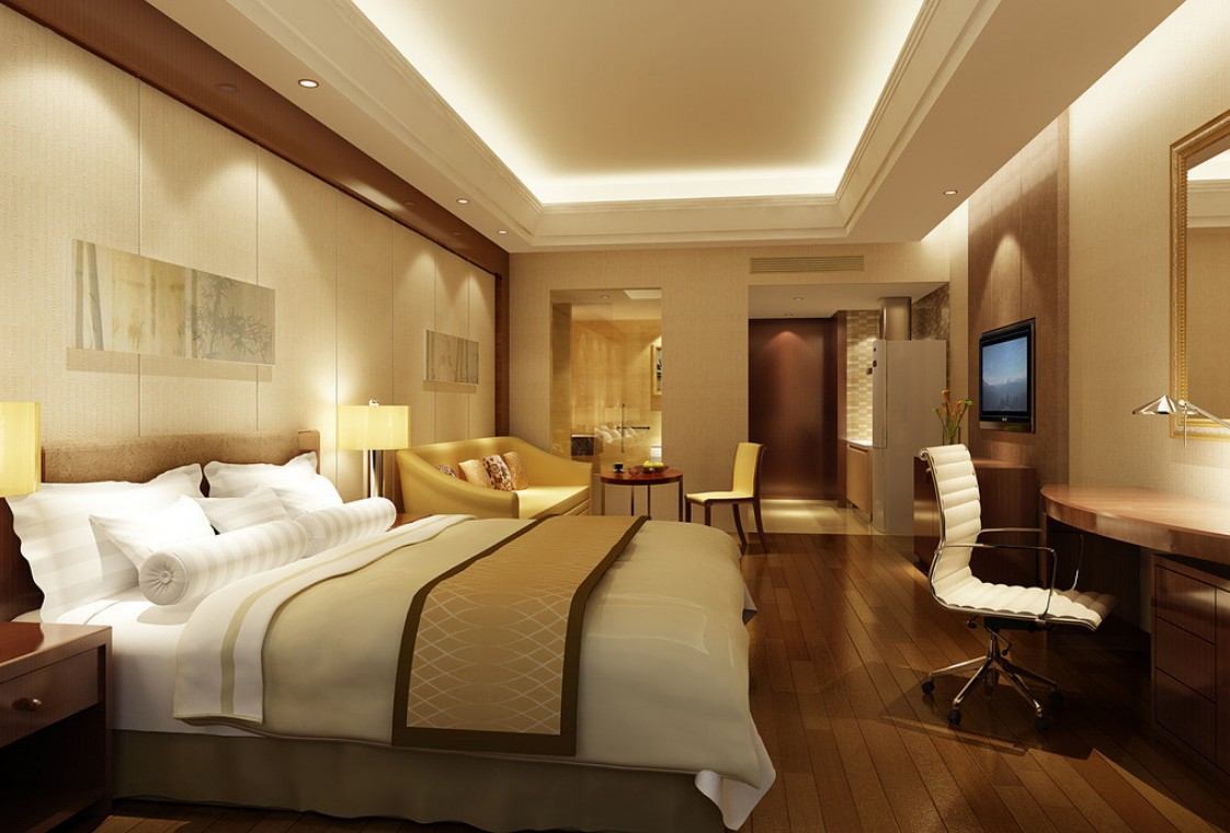 Effective hotel room design tolleson hotels for Modern hotel decor