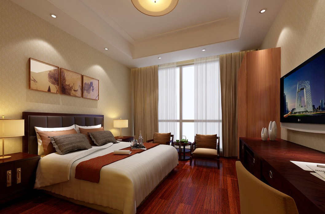 Effective hotel room design tolleson hotels for Hotel bedroom designs pictures